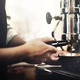 Barista working in a coffee shop - PhotoDune Item for Sale