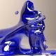 Dancing Liquid Blue 1 - VideoHive Item for Sale
