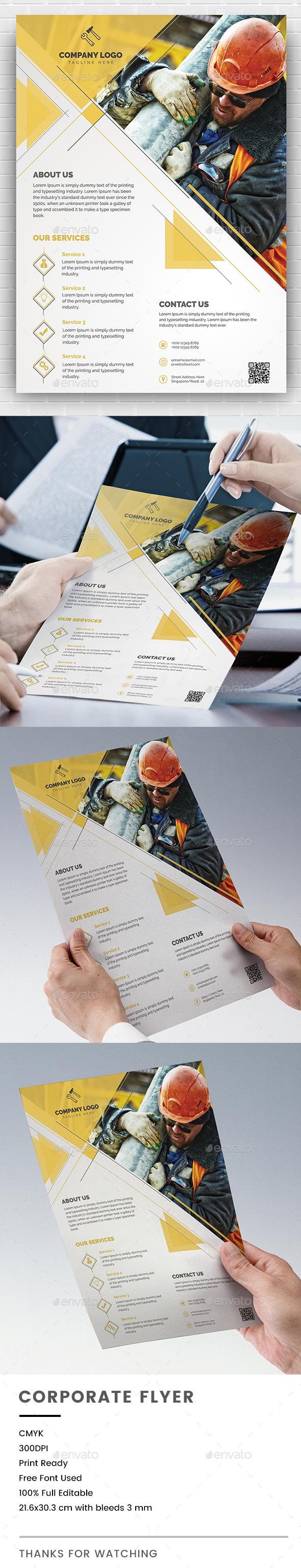 GraphicRiver Corporate Flyer 20907670