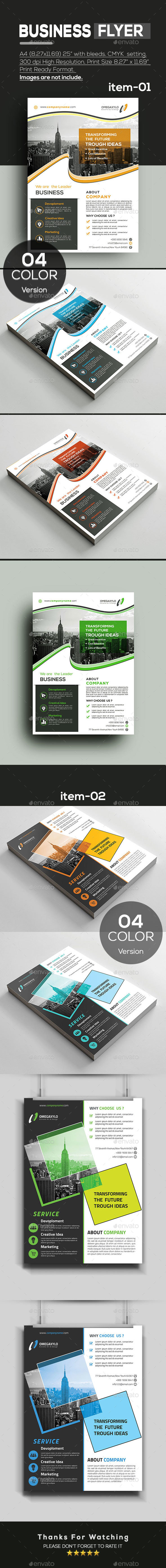 GraphicRiver Flyer Bundle 2 In 1 20907762