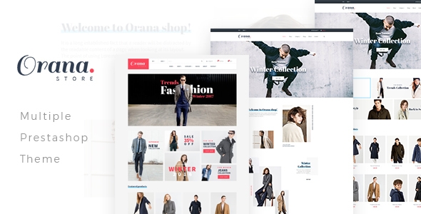 Image of Leo Orana Prestashop Theme