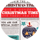 Newspaper Christmas Flyer Card - GraphicRiver Item for Sale
