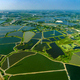 Farmland under the water in Thailand Aerial photo - PhotoDune Item for Sale