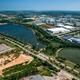 Water reservoir in Industrial estate  - PhotoDune Item for Sale