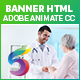 Health Medicare Banner Ad HTML5 (Animate CC)