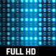 30 Lights Stage Blue Glow Full HD Loop Footages/ Cold Award Led Light Stage Backgrounds/ Dance Party - VideoHive Item for Sale