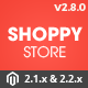Shoppy Store - Responsive Magento 2 and 1.9 Theme - ThemeForest Item for Sale