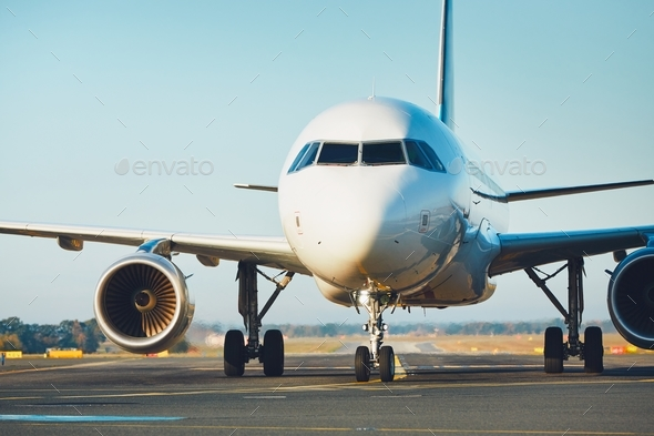 Traffic at the airport - Stock Photo - Images
