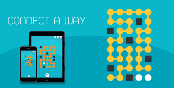 CodeCanyon Connect A Way HTML5 Game 20908555