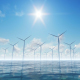 Wind Turbines in the Water - VideoHive Item for Sale