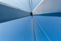 cable-stayed bridge closeup - PhotoDune Item for Sale