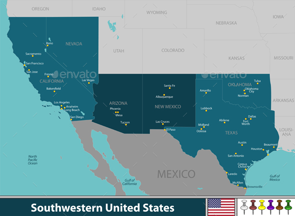 GraphicRiver Southwestern United States 20908859
