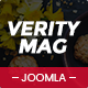 VerityMag - Creative News/Magazine Joomla Template - ThemeForest Item for Sale