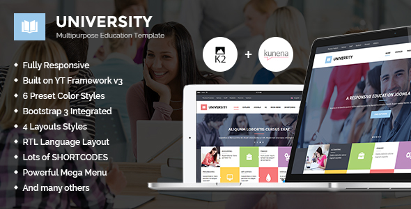 University II - Multipurpose Education Template
