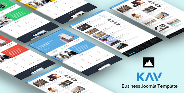 Kay - Responsive Business Joomla Template - Business Corporate