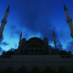 Mosque View in Evening - VideoHive Item for Sale
