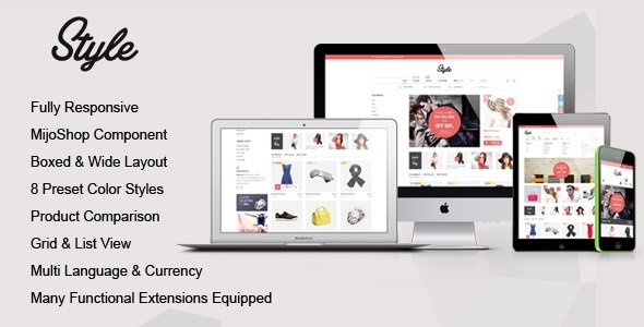 Image of Style - Responsive Multipurpose MijoShop Template