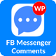 Facebook Messenger Comments For WordPress