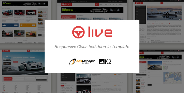 SJ Live - Responsive Classified Joomla Template - Business Corporate