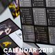 Pocket Calendar 2018 - Metro Style - GraphicRiver Item for Sale