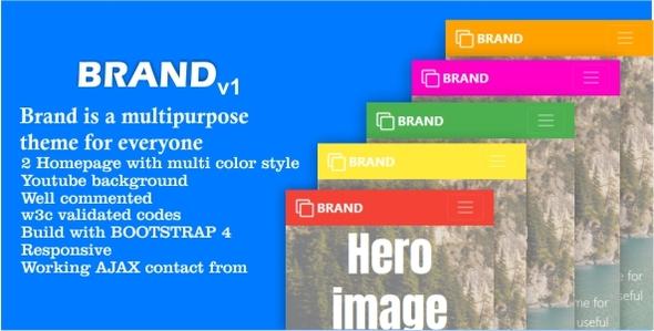 ThemeForest Brand V1 20909022
