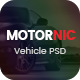 MotorNic - Vehicle Marketplace PSD Template