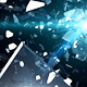 Flying Pieces of Shattered Glass - VideoHive Item for Sale
