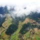 Flight Over Autumn Mountain Village with Forest - VideoHive Item for Sale