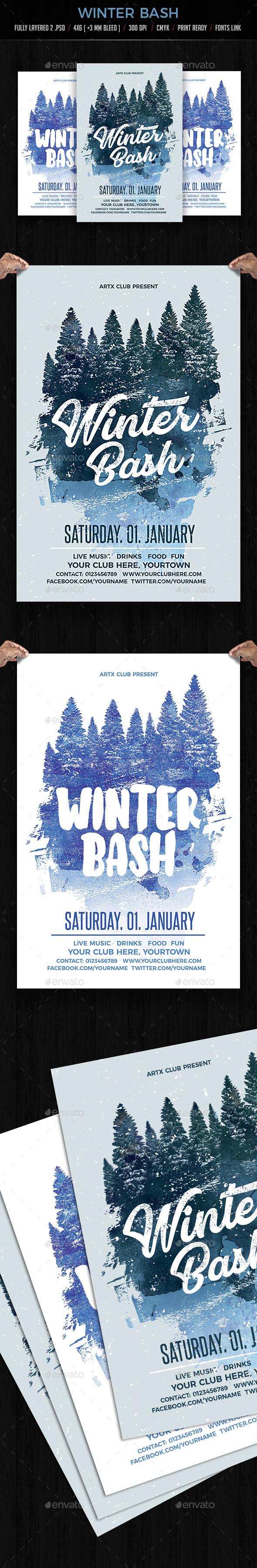 GraphicRiver Winter Bash 20909290