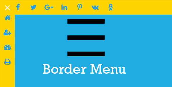 Download Source code              Border Menu - custom icon menu with an animated border effect            nulled nulled version