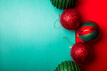 Christmas ball on green and red pepper backround - PhotoDune Item for Sale
