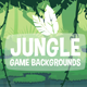 Parallax Jungle 2D Backgrounds - GraphicRiver Item for Sale