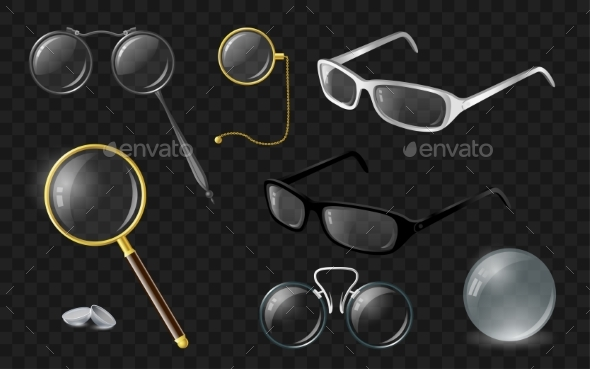 GraphicRiver Set of Optics 20910081