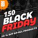 150 Black Friday Instagram Facebook Banners