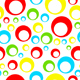 seamless tileable pattern with circles - 3DOcean Item for Sale