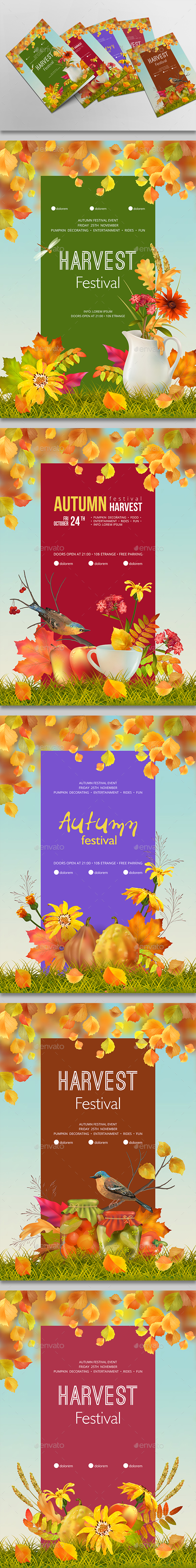 Autumn Poster - Seasons Nature
