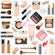 Vector Face Makeup Cosmetics
