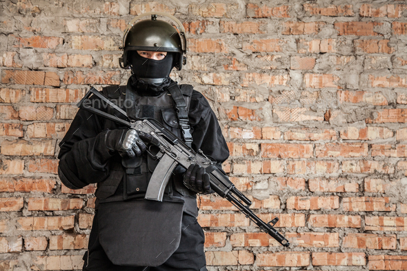 Special forces operator - Stock Photo - Images