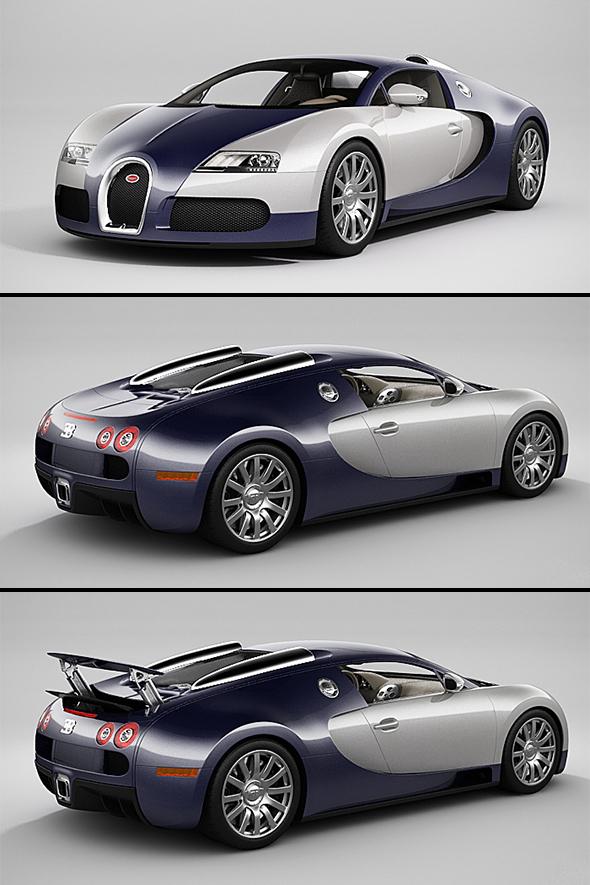 3DOcean Bugatti Veyron 20910802