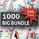 1000 Big Bundle Infographic Elements