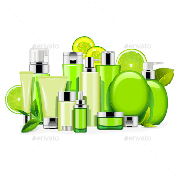 GraphicRiver Vector Energy Cosmetics 20910856