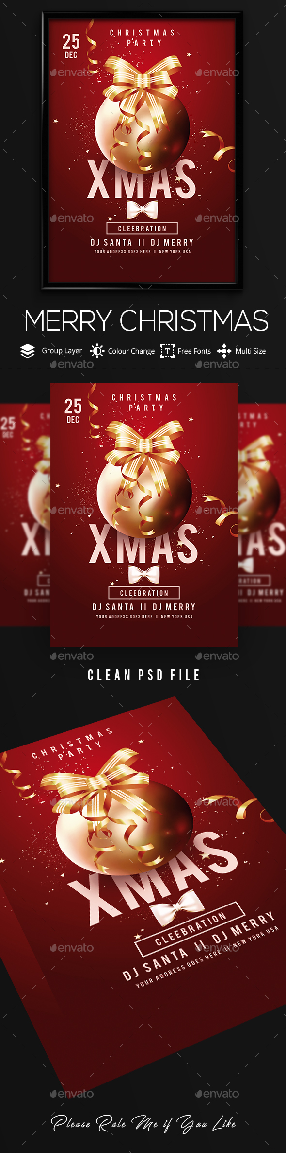 Xmas Christmas Party - Clubs & Parties Events