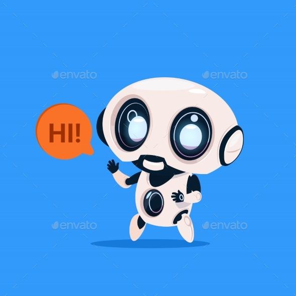 GraphicRiver Robot Says Hi 20911581