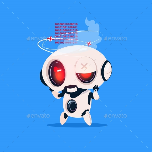 GraphicRiver Robot Broken 20911751
