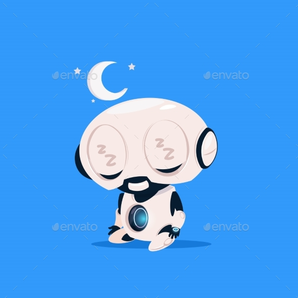 GraphicRiver Robot Sleeping 20911857