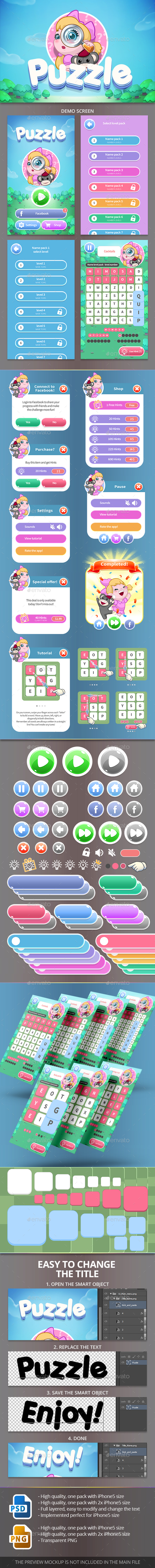 GraphicRiver Word Search Puzzles 20912041