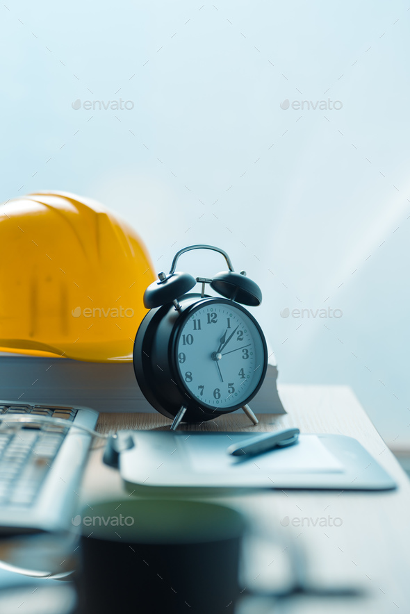 Architecture project deadline - Stock Photo - Images