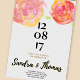 Floral Wedding Invitation Set - GraphicRiver Item for Sale