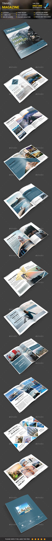 Travel Magazine - Magazines Print Templates