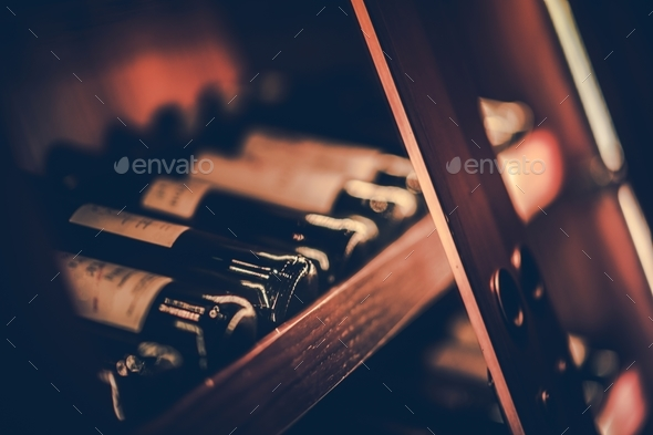Bottles of Red Wine - Stock Photo - Images
